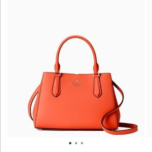 New! Kate Spade Leather Satchel Purse